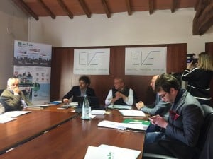 Foto conferenza stampa Enegan - EVE