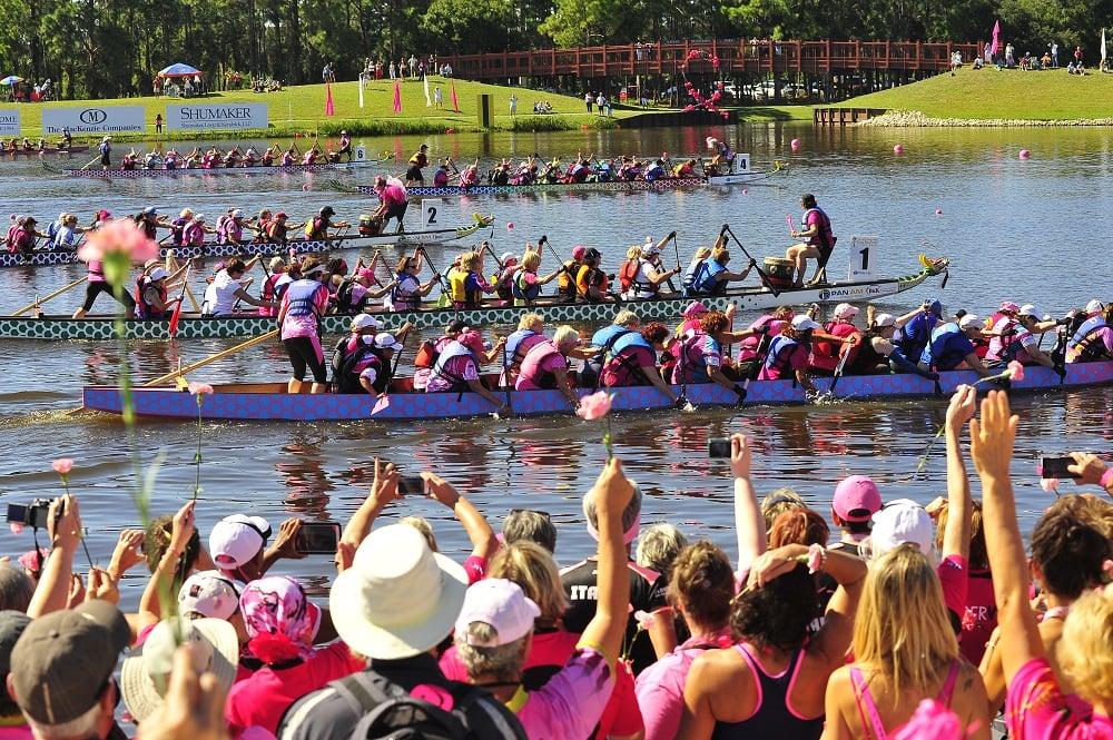 FIRENZE IN ROSA – Il festival mondiale di Dragon Boat delle Donne in Rosa arriva nel capoluogo toscano