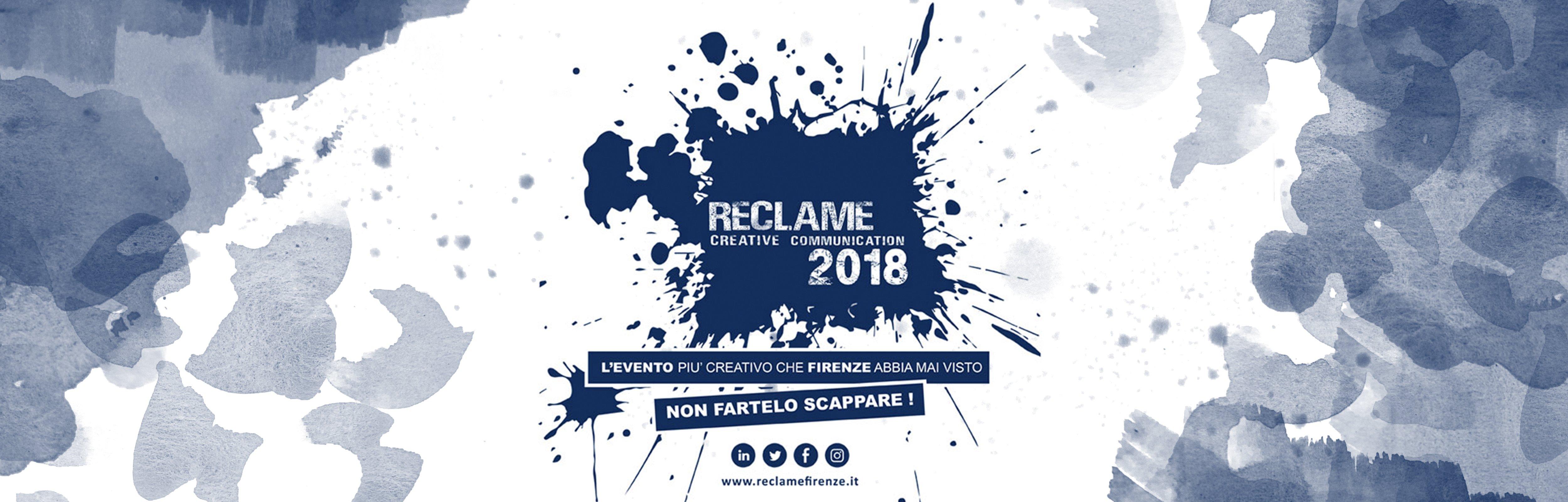RECLAME, il futuro della comunicazione parte da Firenze