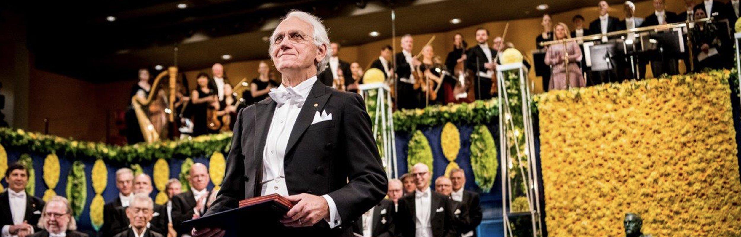 Il premio Nobel per la Fisica 2018 Gérard Mourou in visita a  Quanta System (Gruppo El.En.), l'eccellenza italiana dei laser