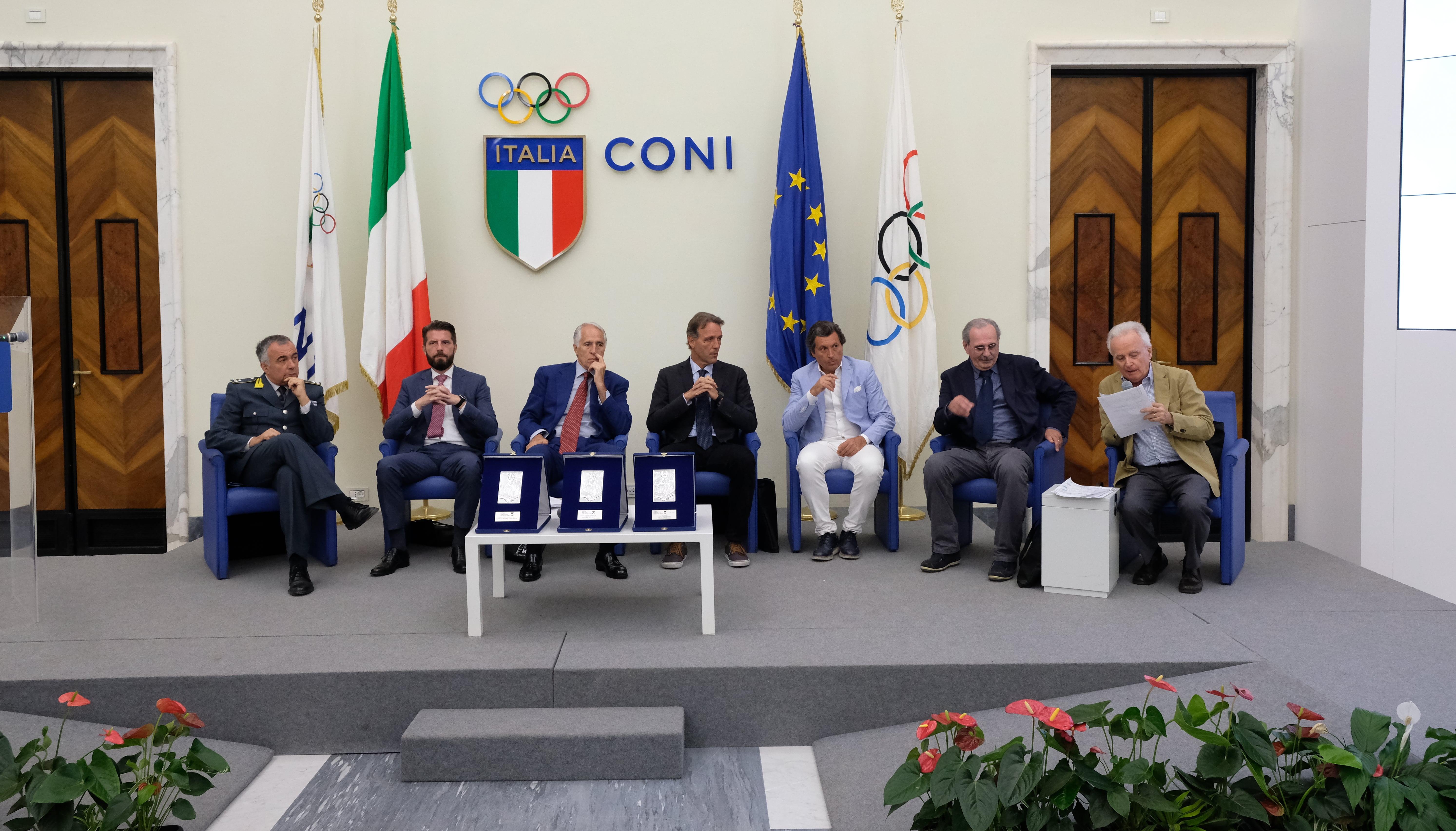 Nel Salone d'Onore del Coni svelati programma e premiati del XXIII Premio Internazionale Fair Play – Menarini
